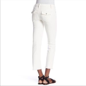 Free People Austen Frayed Ankle Jeans